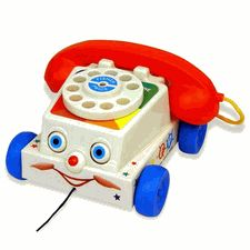 Chatter Telephone - Fisher Price Classic Pull Toy
