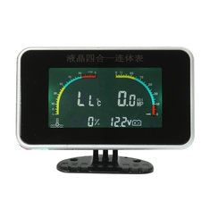 Only US$25.99, buy best Universal Car LCD 4 in 1 Linked Gauge Electronic Digital Display sale online store at wholesale price.US/EU warehouse.