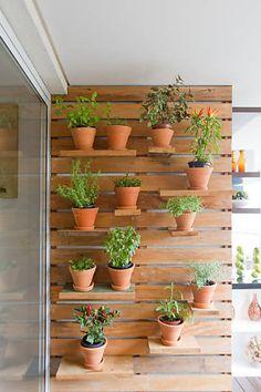 Folha de S.Paulo - São Paulo - Aprenda a cultivar ervas e temperos nas paredes de casa - 31/03/2013