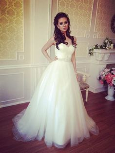wedding dresses, wedding dresses 2014. Looks like she's floating!