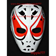 Hockey mask, Hockey goalie, NHL ice hockey, Roller Hockey, Hockey goalie mask, Hockey helmet Dave Dryden mask HO46