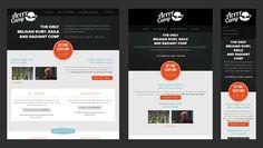 Responsive Web Design for a Camp