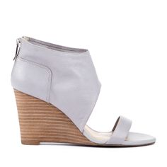 Periwinkle Wedge Heel
