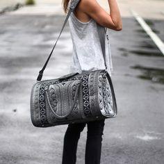 Grey Banda Bag