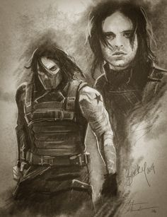 Steve's Sketches: Bucky/The Winter Soldier Digital Pencil Sketch Avengers Drawings, Avengers Art, Bucky Barnes, Marvel Fight, Soldier Drawing, Loki, Captain America And Bucky, Winter Soldier Bucky, Bucky And Steve
