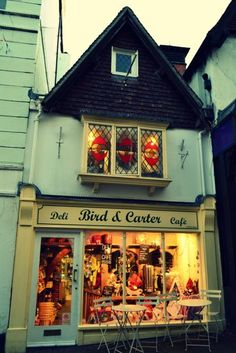 Beautiful shops, markets and cafes Boutiques, Cafe Bistro, Deli Cafe, Store Front Windows, Cute Store, Cafe Shop, Shop Fronts, Lovely Shop, Antique Shops