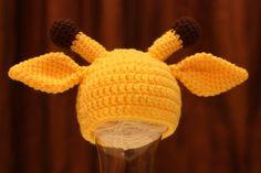 PDF Pattern 4 Giraffe Crochet Hat for Baby - TCY003