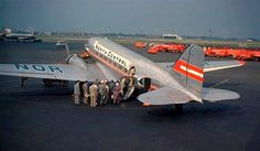 Chicago Midway Airport - North Central Airlines - DC-3 by twa1049g, via Flickr