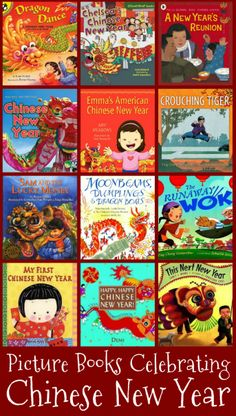 15 Picture Books Celebrating Chinese New Year from @YouthLiteratureReviews