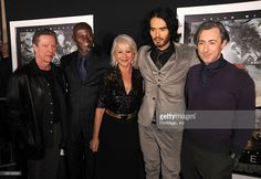 Actors Chris Cooper, Djimon Hounsou, Helen Mirren, Russell Brand and Alan Cumming arrive at the Los Angeles premiere of 'The Tempest' held at the El Capitan Theatre on December 6, 2010 in Hollywood, California.