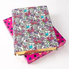 Mademoiselle Floral Fabric Journal