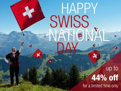 Happy Swiss National Day! Celebrate the holiday with a great discount on Swiss Watches by Jowissa. #SwissNationalDay #Jowissa #Swisswatches Swiss National Day, Swiss Made Watches, Great Gifts For Men, Watch Sale, Summer Sale, Watches For Men, Celebrities, Happy, Holiday