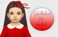 Sims 4 CC's - The Best: Sketchbookpixels Bird Headband - Toddler 3T4  by F...