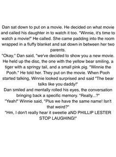 A headcanon I wrote for Dan and Phil...