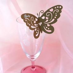 How to make Butterfly Wedding Place Cards with Silhouette Cameo