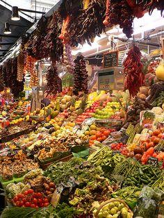 Barcelona Fruit Market--must visit!!