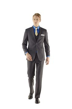 Londoners Young Men Three Piece Suit by Ravis Custom Tailor