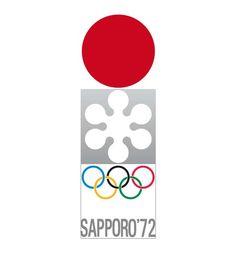 Olympic logo // Sapporo 1972 Winter Olympics