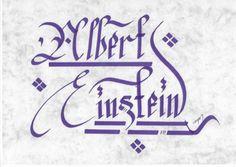 #albert #einstein #e   👍    ➡    📝    🔹 https://facebook.com /rayankalligraphie 🔸 http://rayankalligraphie.de      #kalligrafi #kalligraphie #kalligrafie #calligraphy #callygraphie #art #sanat #kunst #budageceryahu #rayankalligraphie #moderncalligraphy #brushcalligraphy #calligraphyph #calligraphyart #arabicCalligraphy #calligraphymasters