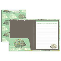 Sara Watts from Capri Designs coming soon to UrbanGirl.  We can't wait to see these fun hedgehog padfolios.  www.urbangirl.com