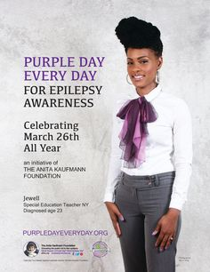 Jewel knows that Purple Day IS Every Day!