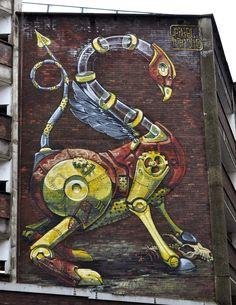 Pixel Pancho - New Mural In Bristol, UK