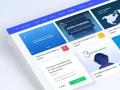 contellio.com main customer screen design