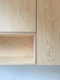 kitchen design plywood pine