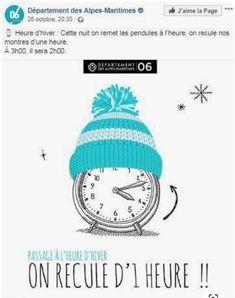 Heure d'Hiver Alpes Maritimes Winter Time, Pendulum Clock, Night, Watch