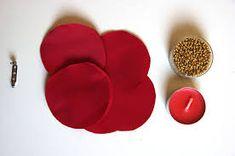 Risultati immagini per come fare fiori di stoffa fatti a mano