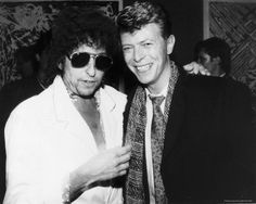 david bowie and bob dylan - Bing images