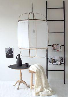 ay illuminate z1 cotton and bamboo lamp livingroom pinterest inredning lampor och ljus. Black Bedroom Furniture Sets. Home Design Ideas