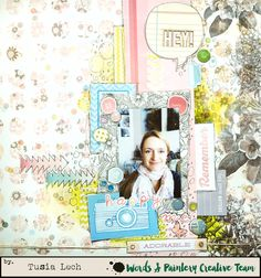 layout by Tusia Lech for Words&Paintery
