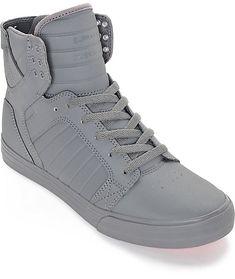 d2a6fbe70ff1 Supra Skytop Mono Tuf Satin Skate Shoes