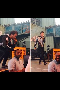 THIS CUTIE CAN EVEN MAKE A SECURITY GUARD SMILE<<< ugh I love Tyler…