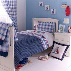Blue Sail Away Bed Linen Collection | Dunelm