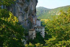 Madonna della Corona Sanctuary | the abbey Madonna della Corona in Spiazzi (Italy) | CC-Content