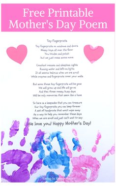 Happy Mothers Day Poem, Mother Poems, Mom Poems, Mothers Day Crafts For Kids, Mothers Day Quotes, Mothers Day Cards, Mom Quotes, Mother Day Gifts, Diy For Kids