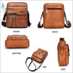 SK Fashion - Luxury Leather Men Handbag - SK Fashion