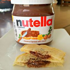 Nutella stuffed panc