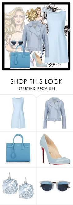"""""""When You Need To be Perfectly Coordinated"""" by ayla-zx ❤ liked on Polyvore featuring Diane Von Furstenberg, Gestuz, Yves Saint Laurent, Christian Louboutin, Kate Spade, Christian Dior, women's clothing, women, female and woman"""