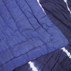 sale quilt off Vintage Kantha indgo Hand Stitched Quilt, 100 Percent Indian Cotton, Bohemian Boho Hand Printed Blue White Coverlet QUEEN Shibori, Hand Stitching, Tie Dye, Outdoor Blanket, Blue And White, Trending Outfits, Quilts, Bohemian, Indian