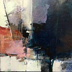 Cedar Route-abstract landscape by Joan Fullerton Acrylic ~ 20 x 20