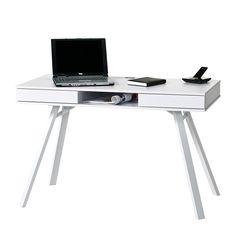 Computerschreibtisch Tala - Weiß
