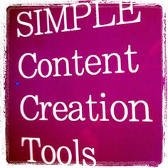 Using Visual Marketing for Social Media Results – 3 Simple Content Creation Tools