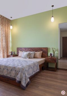 3 Bedroom House Plans In Crescent Bay Mumbai Misty Bedroom Home Decor Bedroom, Bedroom Furniture Design, Indian Room Decor, Bedroom Bed Design, Indian Bedroom Decor, Indian Bedroom Design, India Home Decor, Bedroom Wall Colors, Bedroom House Plans