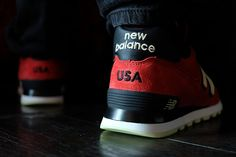 New Balance 574 (Author's Pack) - Sneaker Freaker New Balance All Terrain, Minimalist Sneakers, New Balance Sneakers, New Balance 574, Suede Sneakers, Trainers, Packing, Pairs, Running
