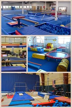 My girls are going to do gymnastics as soon as they can so they need a gymnastics room