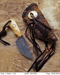 Frontier-Period Knives by Neilson's Mountain Hollow