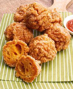 [Resep] Bakso Goreng Ayam Terasi http://www.perutgendut.com/read/bakso-goreng-ayam-terasi/1422 #Resep #Food #Kuliner